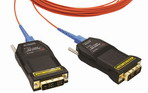 One (1) fiber Detachable DVI Module